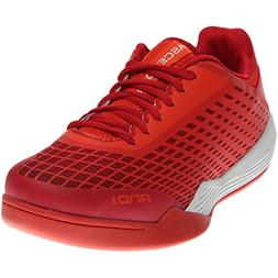 and 1 Men's Ascender Low Basketball Shoe, Cherry Tomato/Fier