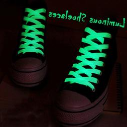 1 Pair 60cm Flat Reflective Runner <font><b>Shoe</b></font>