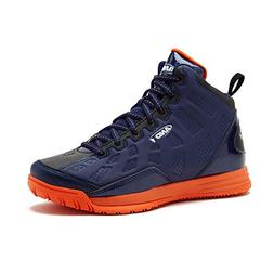 AND1 Kids Show Out Basketball Shoe, 6 M US Big Kid Navy/Blue