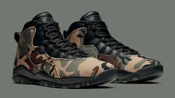 Air Jordan 10 Retro Desert Camo Black 310805-201 Basketball