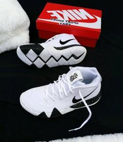 11.5 MEN'S Nike Kyrie 4 TB Basketball Shoes AV2296-100 White