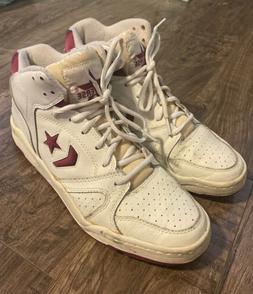 Converse 1980s Vintage Basketball NBA Shoes- Rare 80s White