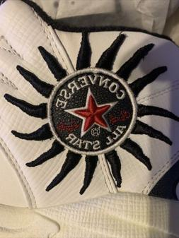 1998 Vintage DS Converse All-Star Dennis Rodman Shoes.  Very