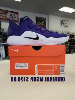2018 Nike HYPERDUNK X TB Low Basketball - Purple - AR0463-50