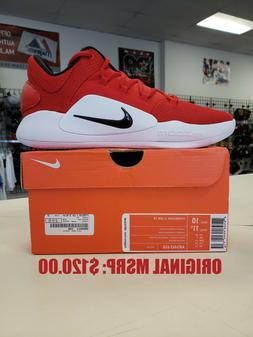 2018 Nike HYPERDUNK X TB Low Basketball - Red - AR0463-600