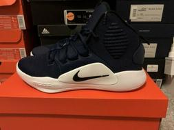 2018 Nike HYPERDUNK X TB Mid High Blue White Men's Basketb