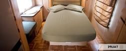 Philly Linens 300 thread count, Short Queen Sheet Set 60x75-