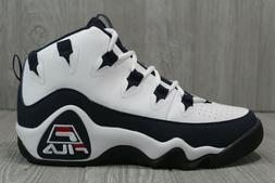 55 New Fila Mens 96 Grant Hill Retro Basketball Shoes White