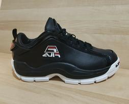 FILA 96 Low GRANT HILL Basketball Shoes size 13 Black Athlet