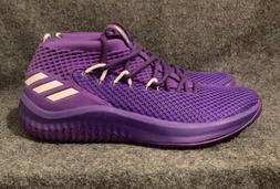 Adidas SM Dame 4 NBA Purple Basketball Shoes Team B76018 Dam