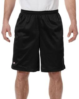 Champion Adult 3.7 oz Athletic Long Mesh Short With Pocket G