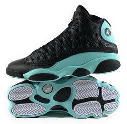 "Air Jordan 13 Retro Men's Black ""Island Green"" Basketball Sh"
