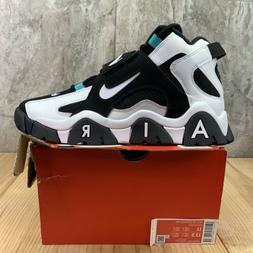 Nike Air Barrage Mid Size 11 Mens Black White Cabana Basketb