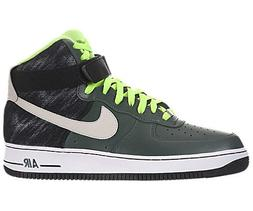 save off 95340 2a64a Nike Men s Air Force 1 High  07 Vintage Green Mortar Black B