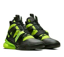 Nike Air Force 270 Utility Mens Basketball Shoes Black Volt