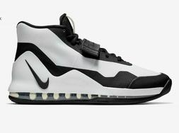 air force max basketball shoes white black
