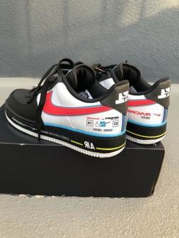 Nike Air Force One 1 '07 Low QS AF1 Motorsport Black Blue AH
