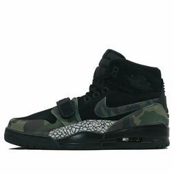 Nike Air Jordan Legacy 312 Black/Camo Green Men's Basketball