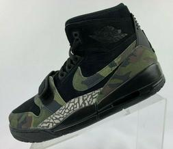 Nike Air Jordan Legacy 312 Black Camo Green Basketball Shoes