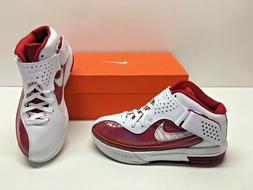 Nike Air Max Soldier V 5 TB Lebron Basketball White Red Snea