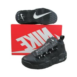 Nike Air More Money GS Kids Basketball Shoes Size 6.5Y Black