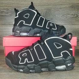 Nike Air More Uptempo 'Black White ' Men's Basketball Shoes