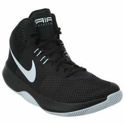 Nike Air Precision Basketball Shoes Black White Cool Gray 89