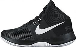 Nike Men's Air Precision Black/White/Cool Grey Basketball Sh