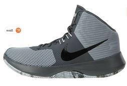 NIKE Air Precision NBK Basketball Shoes Wolf Gray Black Mens