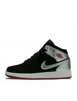 Jordan Air Retro 1 Mid Basketball Shoes AB3 554725-057 BOYS/