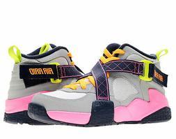 Nike Air Turf Raider  White/Pink-Navy Girls' Basketball Shoe