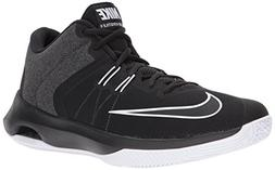 NIKE Men's Air Versitile II Basketball Shoe, Black/White, 11