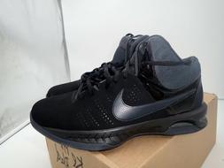 Nike Air Visi Pro VI Nubuck Men's Basketball Shoes Black/Ant