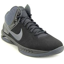 Nike Mens Air Visi Pro VI Nubuck Basketball Shoe Black/Anthr