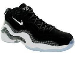 Nike Men's Air Zoom Flight 96 Black/White Basketball Shoe Si