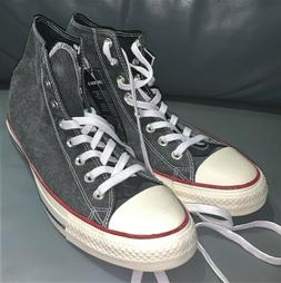 CONVERSE ALL STAR CHUCK TAYLOR BLACK CANVAS BASKETBALL SHOES