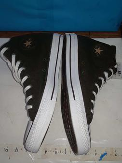 Converse All-Star High Top Shoes 11.5 w/ Leather Chuck Taylo