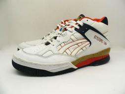 ASICS Men's Gel SpotLyte Basketball Shoe USA White/Red/Blue