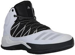 adidas Men's Ball 365 Inspired Basketball Shoe, White/Black/