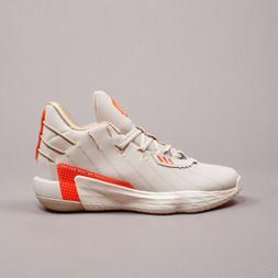 Adidas Basketball Dame 7 Damian Lillard Bliss Red Cream Men