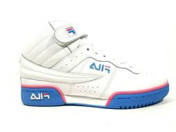 Fila Basketball F-13 OL LEA SYN Womens Shoes White Leather H