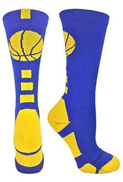 basketball logo athletic crew socks