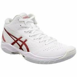 ASICS Basketball Shoes GELHOOP V11 White Red 1061A015 US12
