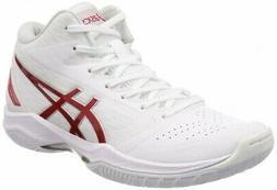 ASICS Basketball Shoes GELHOOP V11 White Red 1061A015 US8.5