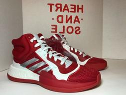 ADIDAS Basketball Shoes Marquee Boost NBA Red White Silver G