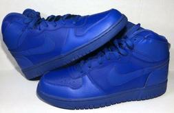 big high game royal leather basketball shoes