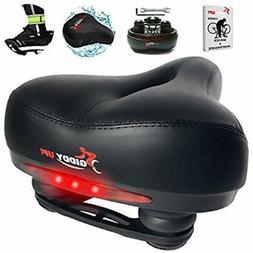 Bike Seat - Most Comfortable Memory Foam Waterproof Saddle,