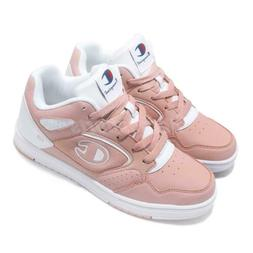 Champion BKB I Pink White Women Casual Basketball Shoes Snea