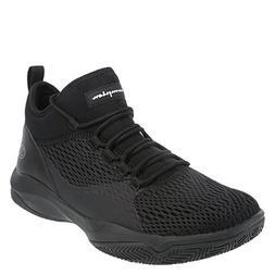 Champion Black Men's Clutch Slip-On Basketball Shoe 10.5 Reg