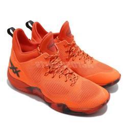 Asics Blaze Nova Shocking Orange Black Men Basketball Shoes